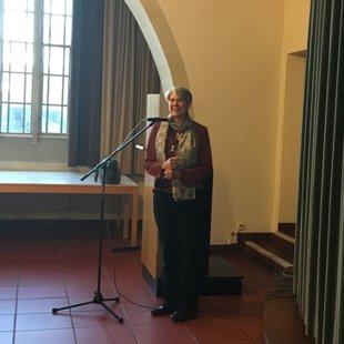 Esslingenas Dienvidu baznīcas mācītāja Cornelia Krause.